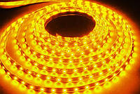 Лента светодиодная 60SMD(5050)/m 14,4W/m 12V 1m*8*0.22mm Жёлтая