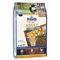 Bosch Adult With Fish & Potato, корм для собак, рыба с картофелем, NEW! 15кг