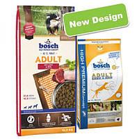 Bosch Adult Lamm & Reis, корм для собак, ягнёнок с рисом, NEW! 15кг