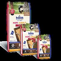 Bosch Mini Adult Lamm & Reis, корм для мелких пород собак, ягнёнок с рисом, NEW! 3кг