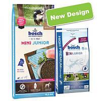 Bosch Mini Junior, корм для мелких пород собак, NEW! 15кг