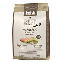 Bosch SOFT ADULT CHICKEN & BANANA (КУРИЦА И БАНАН), корм для собак, 12,5кг