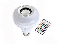 Smart LED лампа з музикою Gbkof Bluetooth Е27 + пульт