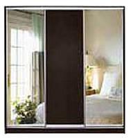 Шкаф-Купе трехдверный (модульная система) с фасадами из ДСП или зеркала