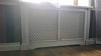 Деревянная решетка под окно