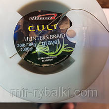 Поводковый матеріал Сlimax Cult Hunter Braid 0.30