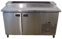 Стол холодильный для пиццы 2х дверный - Саладетта Tehma