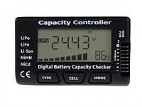 Цифровой тестер RC Cellmeter-7 для проверки емкости аккумулятора NiCd NiMH LiPo LiFe Li-ion