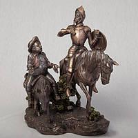 Статуэтка Veronese Дон Кихот и Санчо Панса 31 см 75196 A4