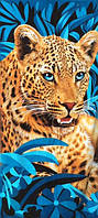 Пляжное полотенце Леопард