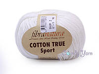 Хлопок Пима FibraNatura Cotton True Sport, Молочный №107-18