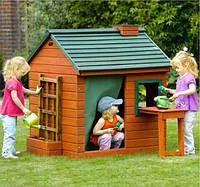 Детские деревяные домики