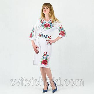 Вишите жіноче плаття з неповторною вишивкою, фото 2