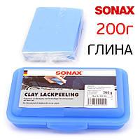 Шлифующая масса синяя SONAX Clay Lackpeeling (Германия) 200г 450205, фото 1