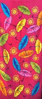 Пляжное полотенце Зонтики