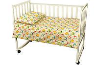Постельный комплект в детскую кроватку Немовля (пододеяльник, наволочка, простынь) ТМ Руно 932.02