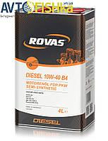 ROVAS 10W-40 A3/B4 (4л)