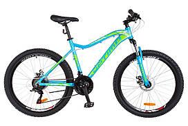 Велосипед 26-106 Optimabikes ALPINA AM 14G DD (18) blue-green