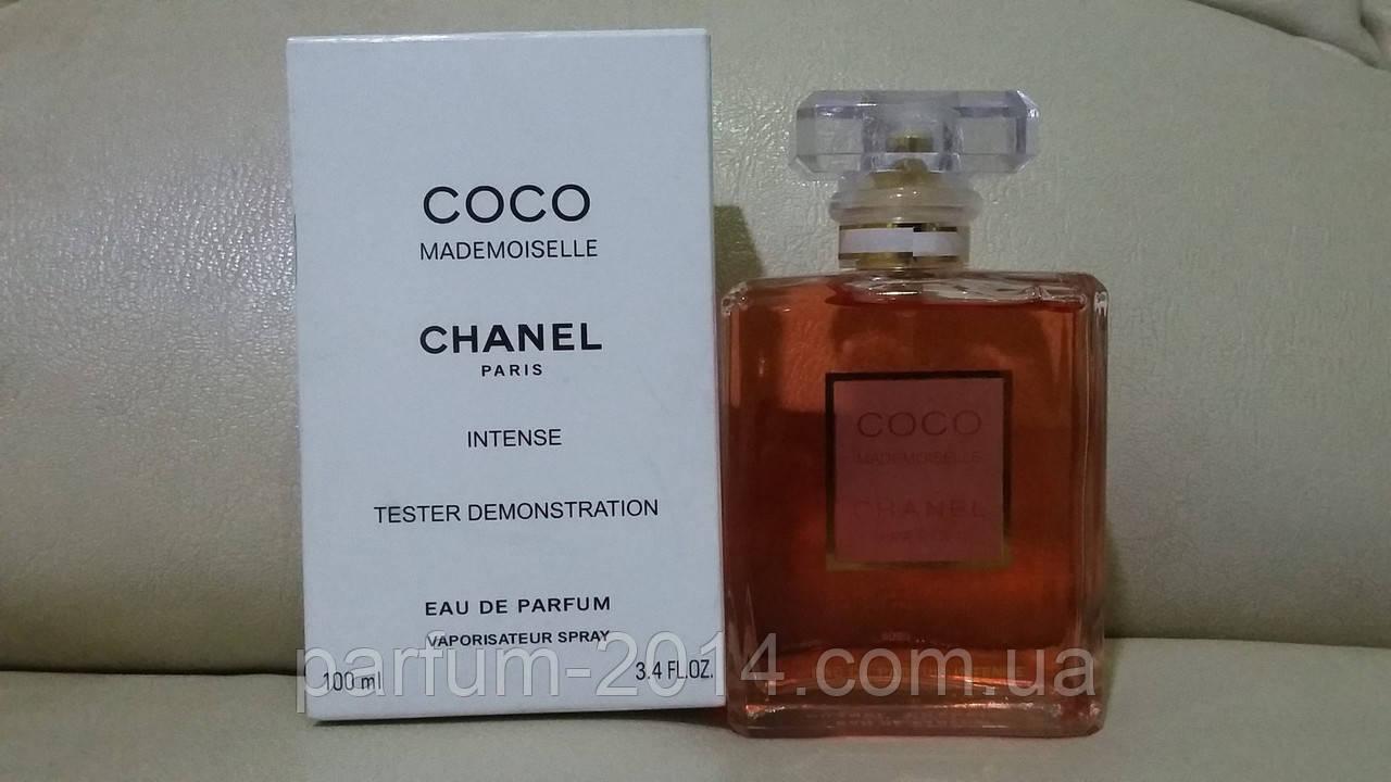 Женская парфюмированная вода Chanel Coco Mademoiselle Eau De Parfum Intense  tester (реплика) - Parfum f89703eb2351c