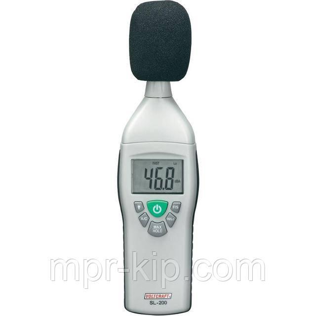 Шумомер Voltcraft SL-200 (30 -130 dB; ± 1,5) 31,5 Hz - 8 kHz. EN 60651 Class 2. Германия