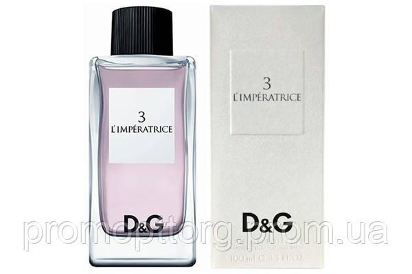 Женская туалетная вода Dolce & Gabbana 3 L`Imperatrice (купить женские духи дольче габбана императрица 3)  AAT