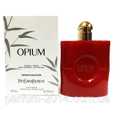 Женская парфюмированная вода Yves Saint Laurent Opium Edition Collector edp 90 ml tester (реплика), фото 2