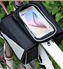 Велосумка на раму для телефона