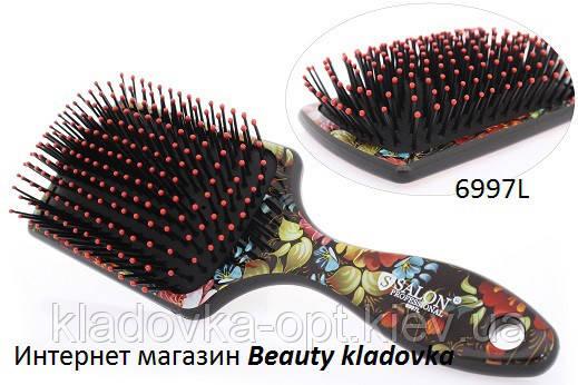 Расчёска массажная Salon Professional 6997L  цвет в ассортименте