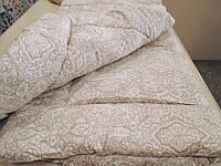 Одеяло зимнее шерстяное / покрытие сатин, фото 1