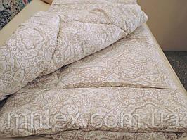 Одеяло зимнее шерстяное / покрытие сатин