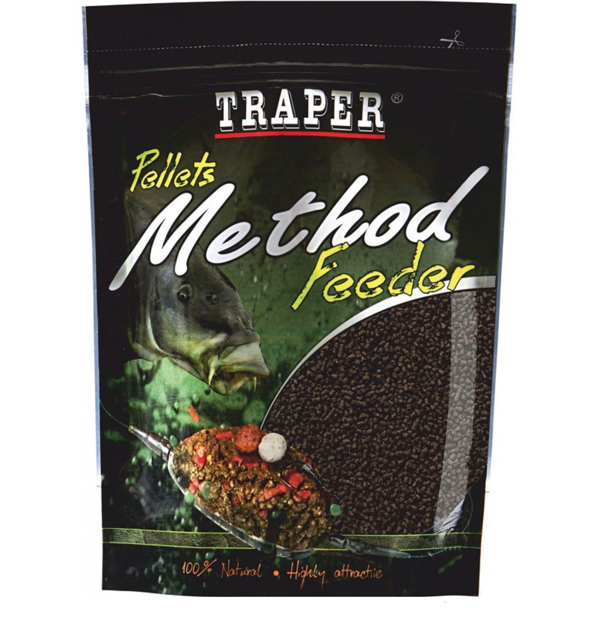 Пеллетс Traper METHOD FEEDER PELLET 4 мм