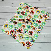 Непромокаемые пеленки для новорожденных -09