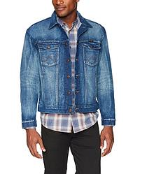 Джинсовая куртка Wrangler Western - Dark Vintage - (М)