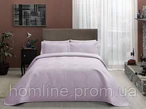 Покрывало ТАС180*240с наволочками Comfort ZigZag lila лиловый