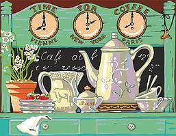 Раскраска по номерам Завтрак в Провансе (RS-N0001313) 45 х 35 см