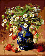 Картина по номерам Клубничный натюрморт (AS0116) 40 х 50 см ArtStory, фото 1
