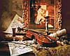 Картина-раскраска Волшебная музыка скрипки (KH2509) 40 х 50 см