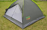 Палатка трёхместная Green Camp 1012, фото 1