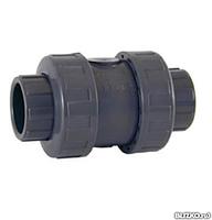 Обратный клапан ПВХ D.50 мм, фото 1