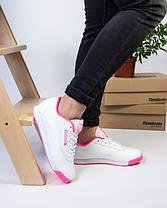 Женские кроссовки в стиле Reebok Princess White/Pink (36, 38, 40 размеры), фото 3