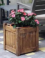 """Горшок для цветов из дерева """"София"""""""