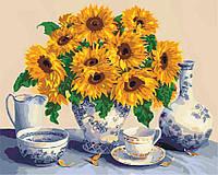 Рисование по номерам Идейка Солнечный натюрморт (KH5519) 40 х 50 см