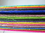 Фетр для рукоделия, набор 20 листов 20*30 см разного цвета;жёсткий, толщина 1 мм, фото 2