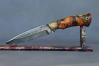 """Нож ручной работы из дамасской стали """"Хищник"""""""