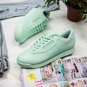 Женские кроссовки в стиле Reebok Princess Mint (37, 40 размеры), фото 2