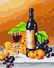 Картина раскраска по номерам без коробки Идейка Аромат вина худ Ходриен Рой (KHO2066) 40 х 50 см