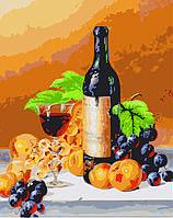 Картина раскраска по номерам без коробки Идейка Аромат вина худ Ходриен Рой (KHO2066) 40 х 50 см, фото 1