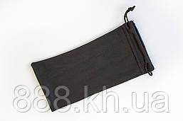 Чехол мешок, для очков; чехол для очков черный