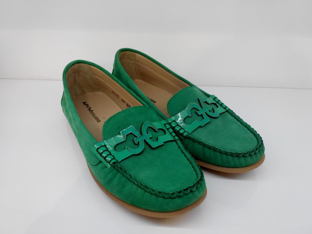 Мокасини Etor 4020-2532 37 зелені