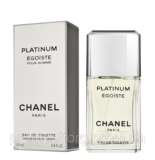 Мужская туалетная вода Chanel Egoïste Platinum (изысканный древесно-мускусный аромат)  AAT